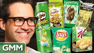 What's The Best Sour Cream & Onion Snack? Taste Test