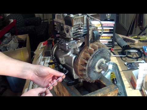 Briggs and Stratton 5HP - Carburetor Linkage Setup - 130212