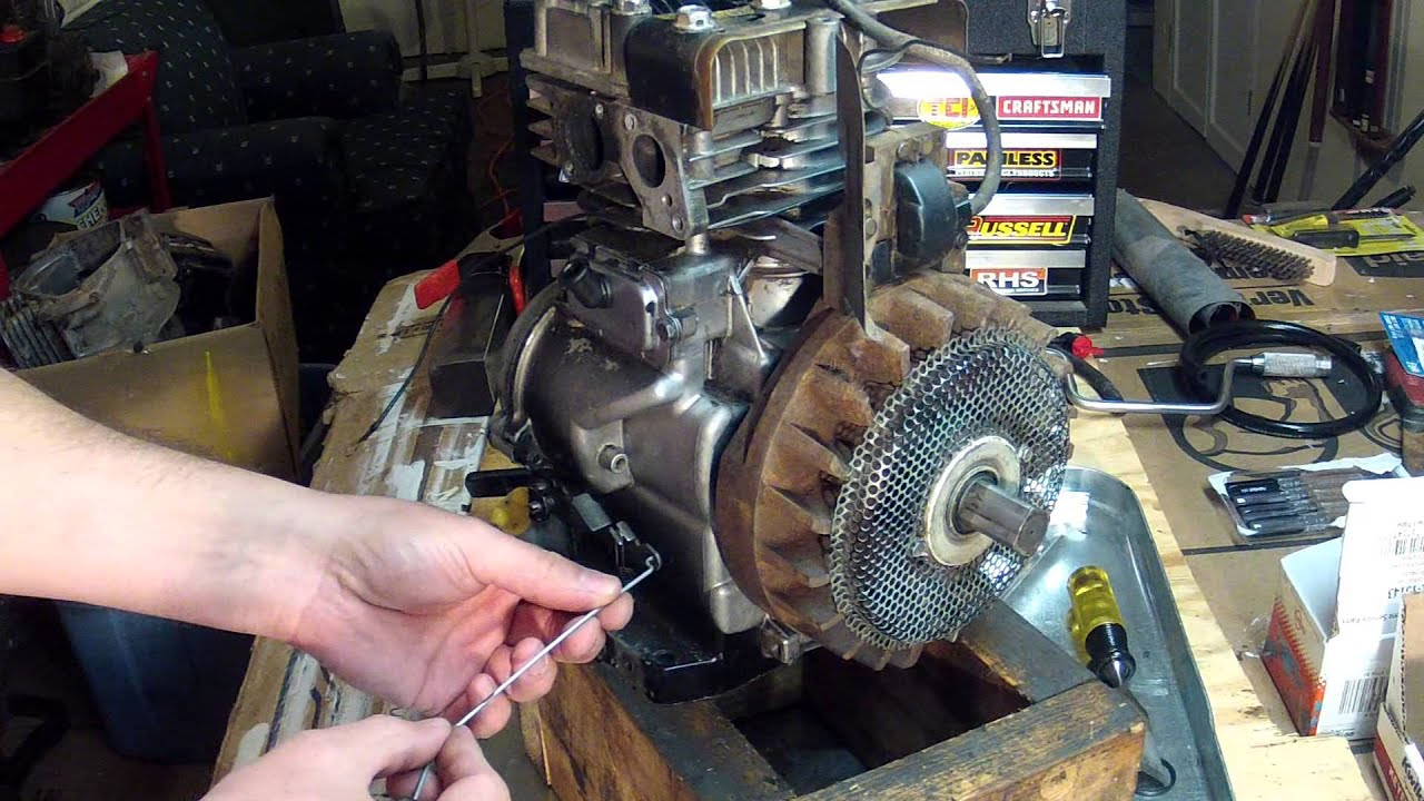 briggs and stratton 5hp carburetor linkage setup 130212 youtube rh youtube com briggs and stratton quantum 5.0 parts briggs and stratton quantum xte 5hp manual