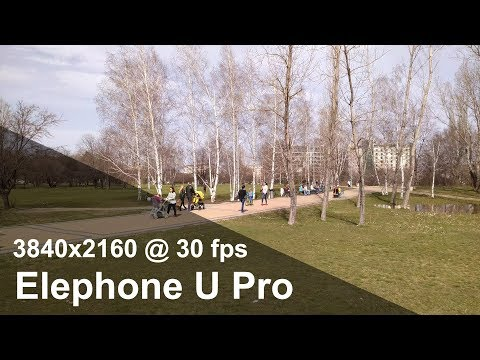 Elephone U Pro - 4K UHD (3840x2160) camera video sample