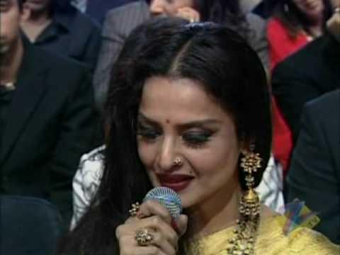 Rekha sings  Zee 2008