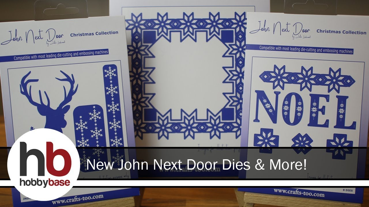 John Next Door Christmas Dies.John Next Door Christmas Dies New Stamp Ranges
