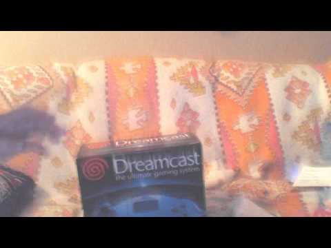 SEGA DREAMCAST UNBOXING WITH 3 GAMES AND WEB BROWSER