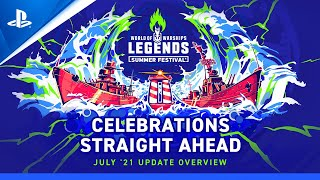 『World of Warships: Legends』7月アップデートのご紹介!
