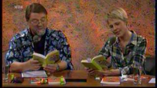 """""""Was liest Du"""" mit Cordula Stratmann (21.11.09) 1/2  """"Entschuldigung, sind Sie die Wurst?"""""""