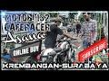 Benelli Motobi 152 Caferacer Siap Ngaspal Dupak Surabaya