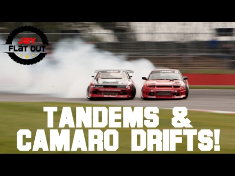 Tandem Drifting And Muscle Cars Vegas Drift 2017 2 At Lvms Youtube