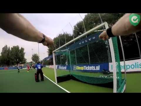 Gopro On A Field Hockey Referee