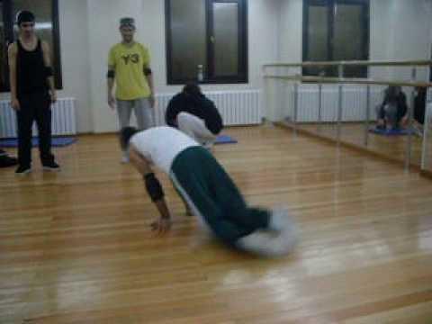 Hip Hop Break Dans Kursu- Dans Nasıl Yapılır-Yılmaz Nişancı