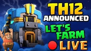 🔴COC INDIA LIVE LOOT SPREE FOR TH12 | CLASH OF CLANS INDIA