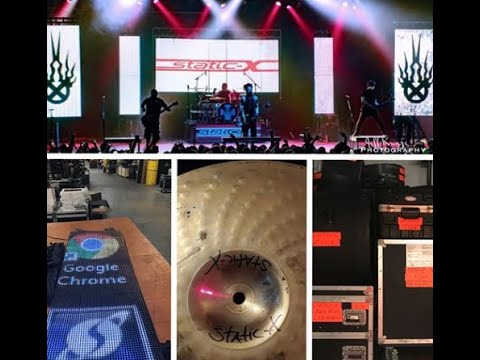 Static-X and Dope hit with a major theft $200,000 worth of equipment stolen