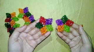 DIY 3d Star || How To Make Christmas Stars At Home (Xmas Star) || DIY Stars For Decorations