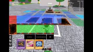 How to duel on Roblox's Yugioh Duelist World Part 1