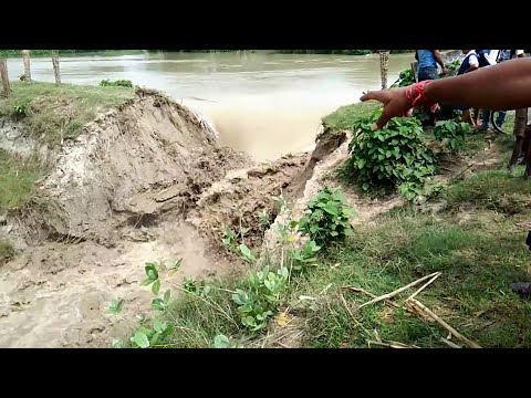Viral || Floodwater || Big Natural Disaster at Malda West Bengal 17/08/2017 HD