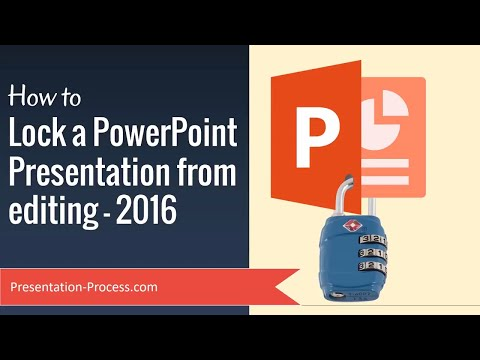 How To Lock A PowerPoint Presentation From Editing (PowerPoint Tips)