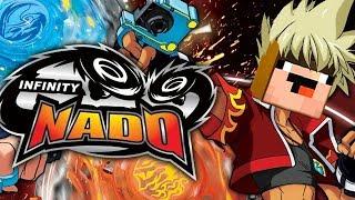 Back To School 2019 - Электрический Infinity NADO против BeyBlade - Лего НУБик