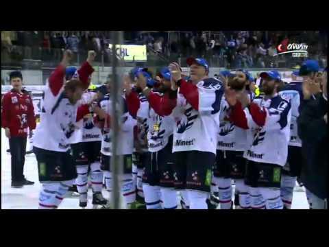DEL Finale 2015 - Adler Mannheim Meister - Ehrung & Stimmen nach dem Spiel