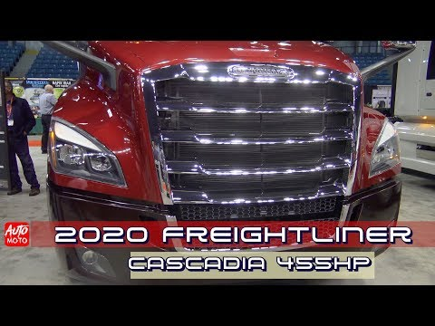 2020 Freightliner Cascadia 72''Raised Roof 455HP - Exterior And Interior - 2019 Atlantic Truck Show