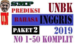 Download Video PREDIKSI UNBK BAHASA INGGRIS SMP 2019 paket 2, 50 SOAL KOMPLIT MP3 3GP MP4