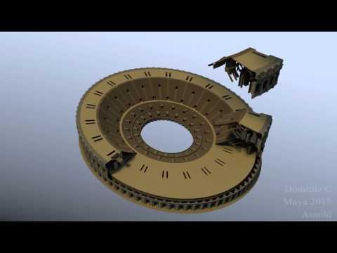 Intro to CGI A1 - Colosseum