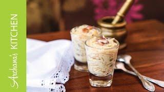 Semiya Payasam (kheer) (vermicelli Pudding) By Archana's Kitchen