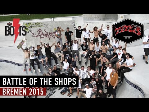 Titus Battle of the Shops 2015 | Bremen Skateboard Contest