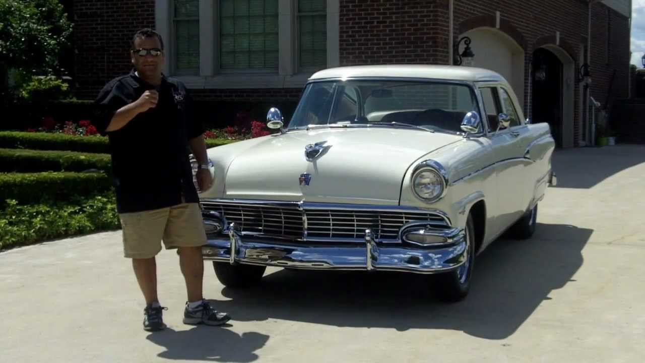 1956 Ford Customline Classic Muscle Car for Sale in MI Vanguard ...