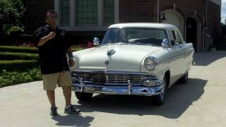 1956 Ford Customline Classic Muscle Car for Sale in MI Vanguard Motor Sales