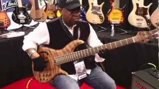 F Bass at NAMM 2013