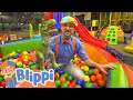 Learning With Blippi At The Kinderland Kids Museum | Educational Videos For Kids