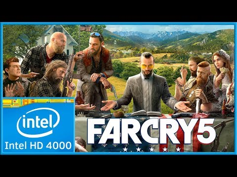 Far Cry 5 | Low End PC | Intel HD 4000 |