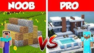 NOOB vs PRO - Minecraft (episode #1) The Best House Battle