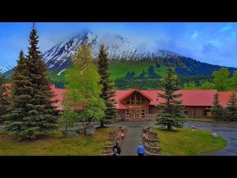 At the Kenai Princess Wilderness Lodge, Alaska