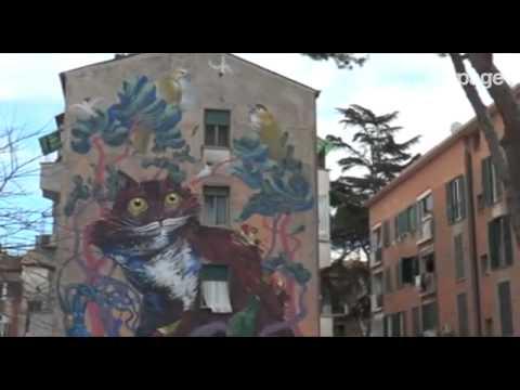 Street art, a Roma un tour nel museo a cielo aperto