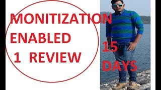 YOUTUBE CHANNEL MONETIZED|| GOOD NEWS||MUST WATCH