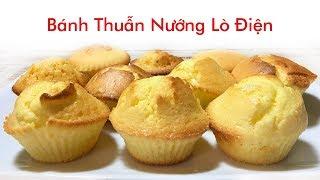 Bánh Thuẫn Thửng Nướng Bếp Lò Điện Khuôn Silicone - Vietnamese Cupcakes