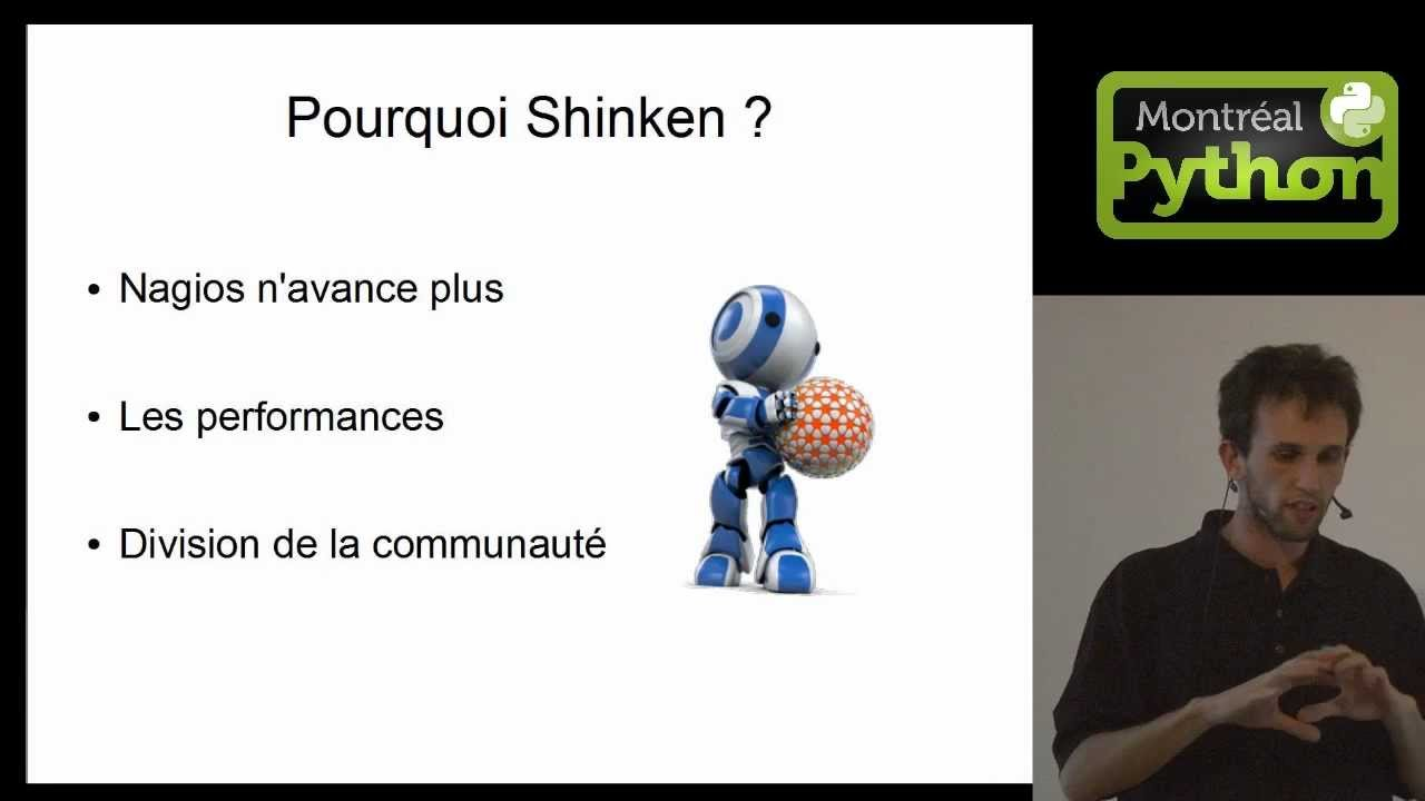 Image from Shinken: quand un Python rencontre Nagios