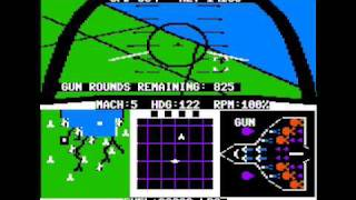 F-15 Strike Eagle for the Apple II
