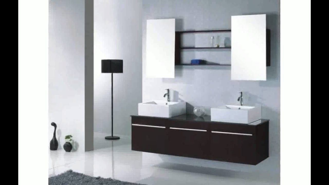 armoire miroir salle de bain youtube. Black Bedroom Furniture Sets. Home Design Ideas