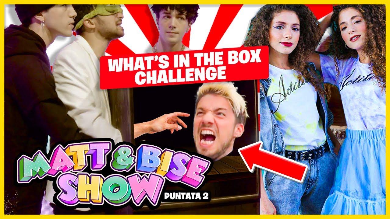 COSA C'È NELLA SCATOLA? – What's In The Box Challenge   [Matt & Bise Show] ep. 2