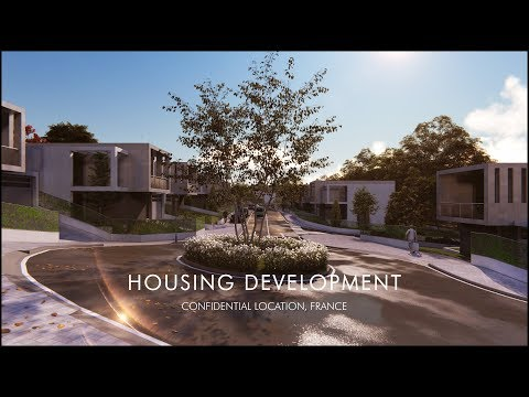 Architectural Visualization for HOUSING DEVELOPMENT, Confidential Location, FRANCE