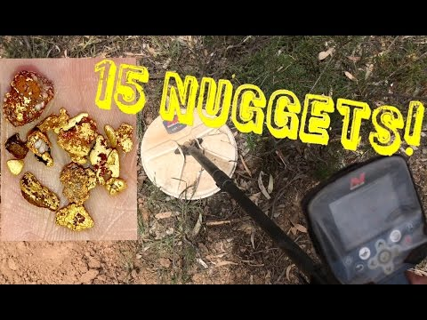 15 NUGGETS in 1 DAY! Gold Detecting w/ Minelab GPZ 7000 - YouTube