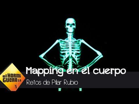 Revive el increíble mapping en el cuerpo de Pilar Rubio - El Hormiguero 3.0