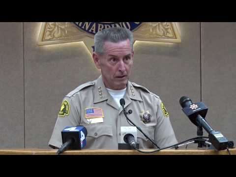Multi-Agency Takedown of Westside Verdugo Street Gang – Press Conference