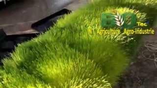 biotec récolte facile de 300 kg orge hydroponique