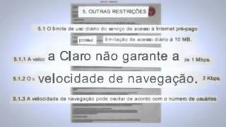 Canal do Otário Internet 3G MAX Claro vídeo censurado