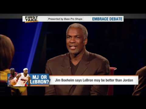 First Take | Charles Oakley says Jordan Is The GOAT!