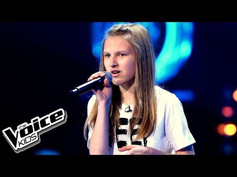 "Oktawia Bernaś – ""If I Were Sorry"" – Przesłuchania w ciemno – The Voice Kids Poland"