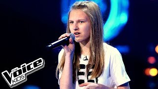 Oktawia Bernaś If I Were Sorry Przesłuchania W Ciemno The Voice Kids Poland