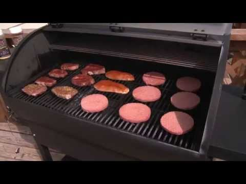 Magnum Pellet Grill by Cabela's - YouTube